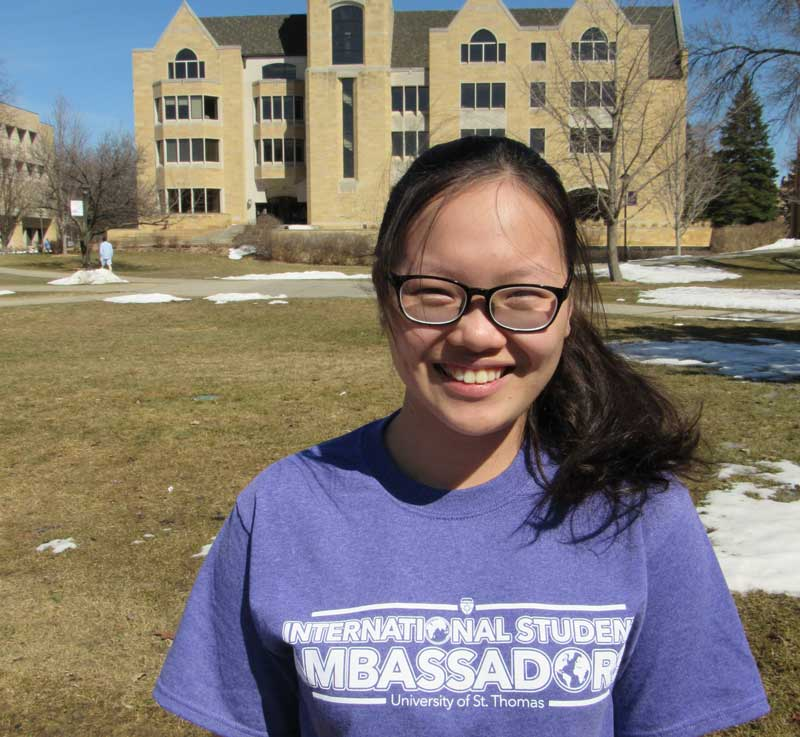 Picture of Duyen Su an international student at St. Thomas